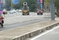 蓬安正式引用雾化降尘车辆