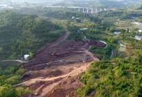 凤凰大桥西延线工程进展(2018年11月3日)