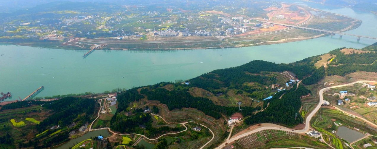 蓬安嘉陵江三桥新进展(2019.3.18)