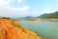 蓬安县绕北嘉陵江一桥项目顺利推进,预计春节后开始主体施工