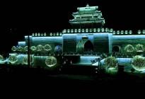 临近春节的蓬安夜色