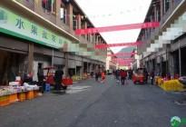 蓬安新建农贸城一览