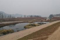 顺蓬营一级公路蓬安锦屏段正在施工嘉陵江三桥施工便道