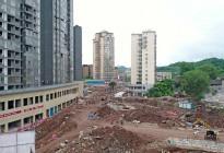 蓬安县嘉陵西路改建工程进展(2019-06-16)