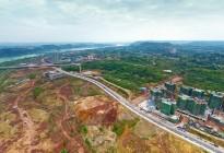 蓬安县锦屏新区建设实况(20200406)