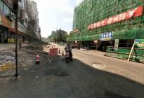蓬安建设路改造进展(2020-08-05)