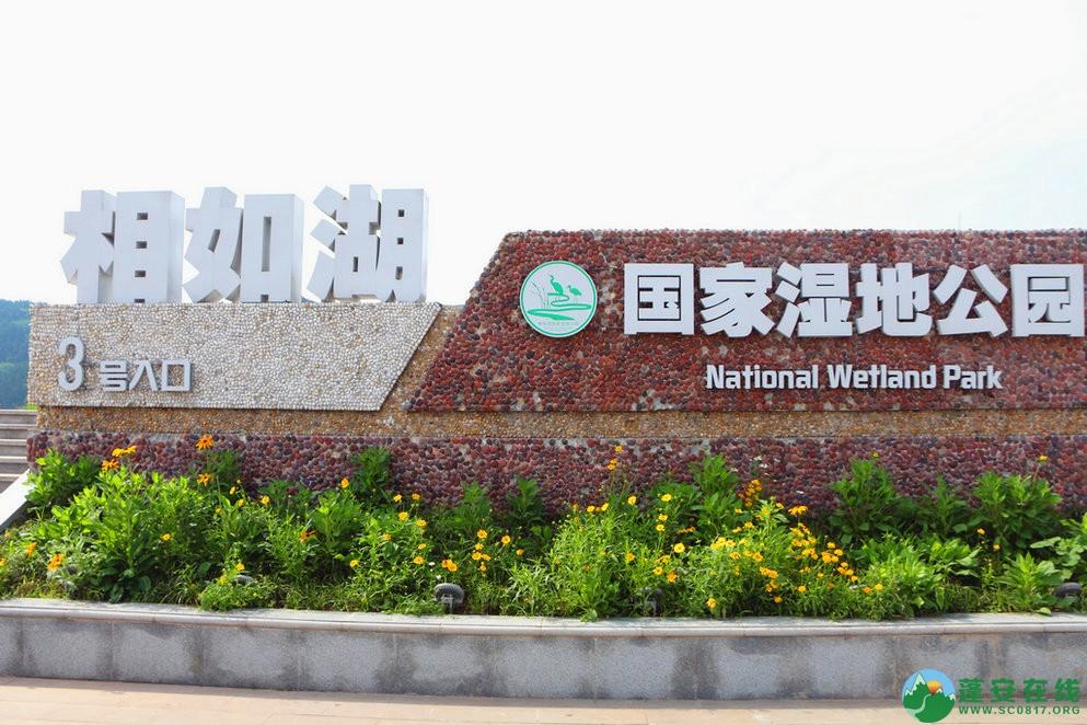 蓬安锦屏相如湖国家湿地公园夏景 - 第1张  | 蓬安在线