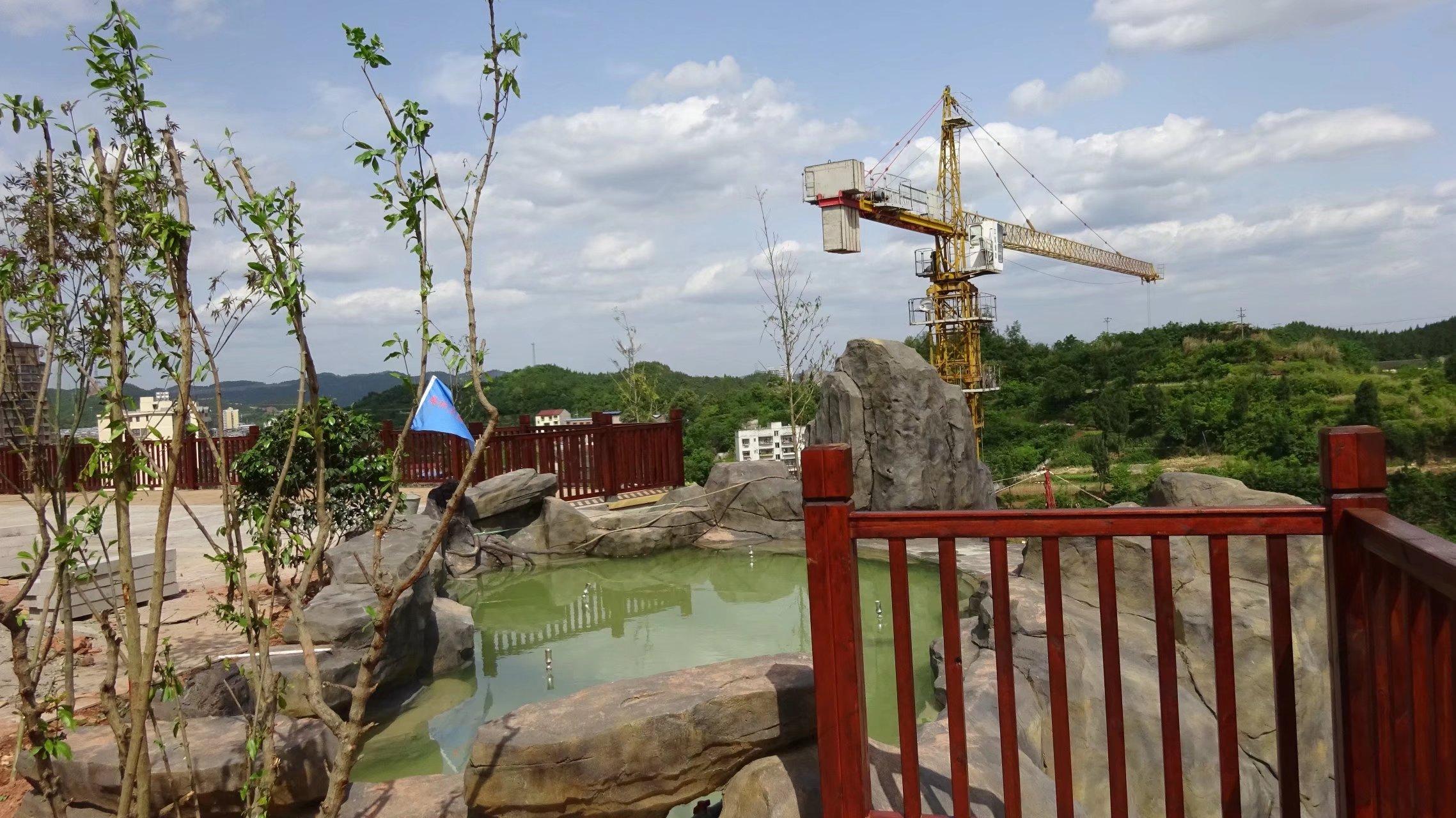 蓬安桑梓火锅公园施工进度(2018-05-10) - 第24张    蓬安在线