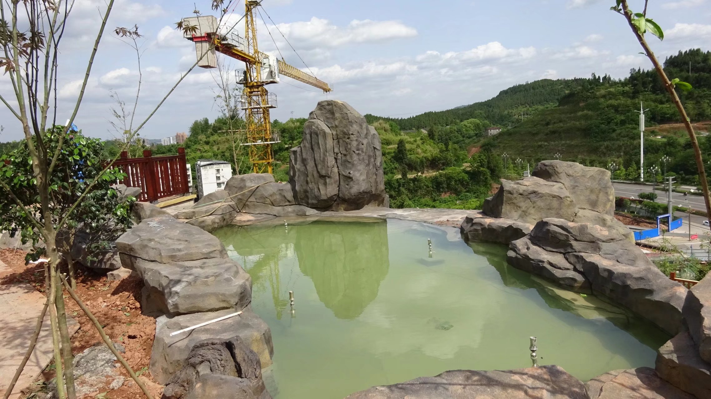 蓬安桑梓火锅公园施工进度(2018-05-10) - 第25张    蓬安在线