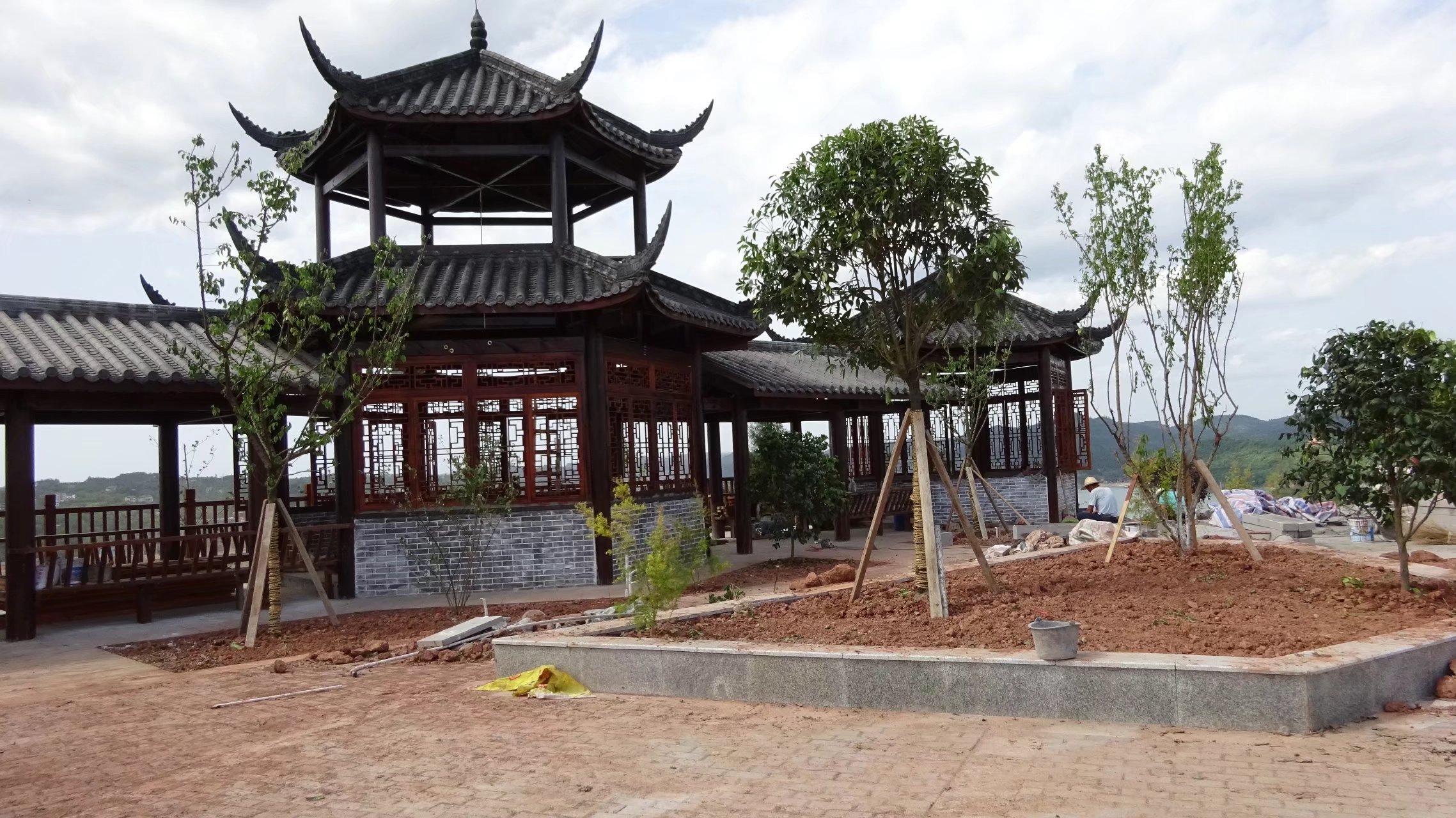蓬安桑梓火锅公园施工进度(2018-05-10) - 第27张    蓬安在线