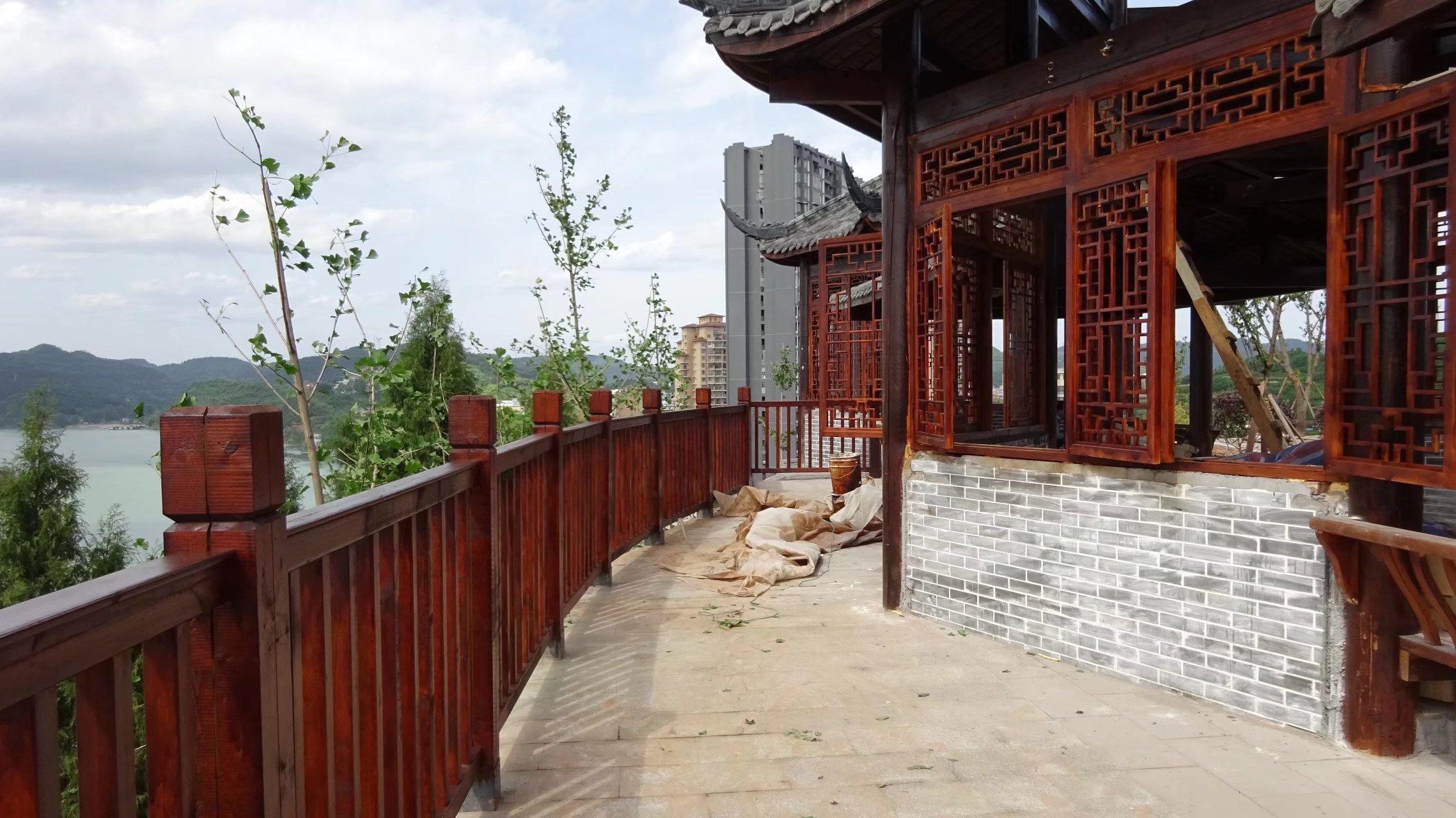 蓬安桑梓火锅公园施工进度(2018-05-10) - 第29张    蓬安在线