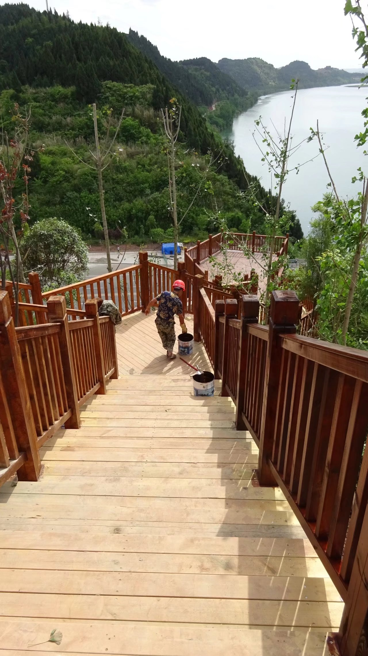 蓬安桑梓火锅公园施工进度(2018-05-10) - 第31张    蓬安在线