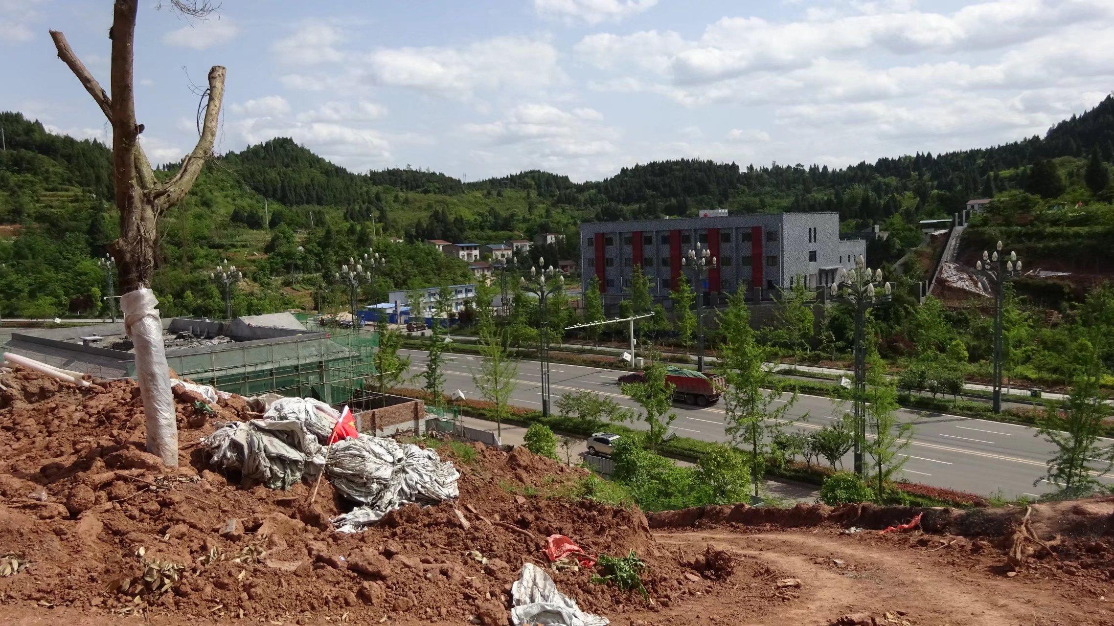 蓬安桑梓火锅公园施工进度(2018-05-10) - 第6张    蓬安在线