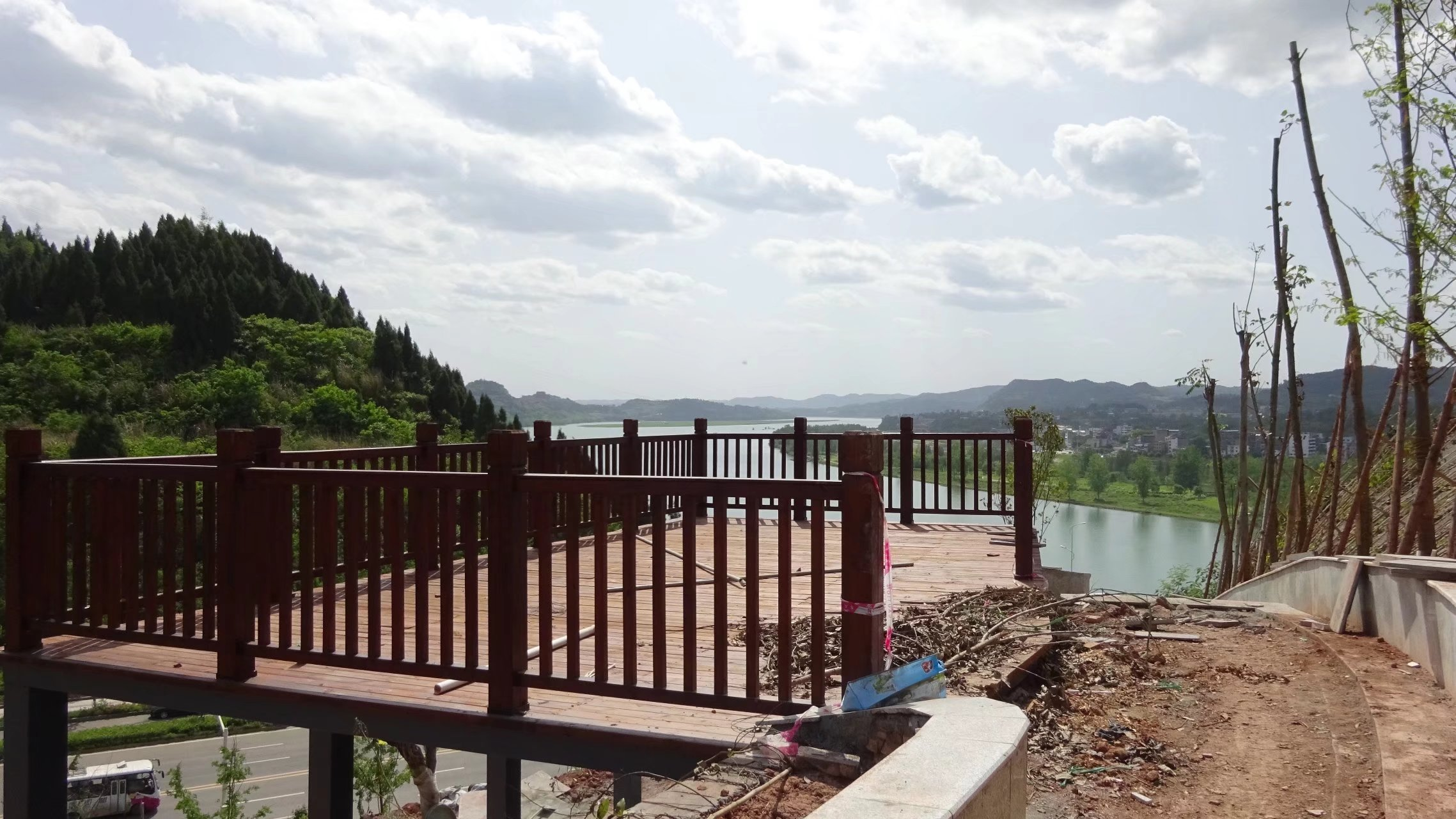 蓬安桑梓火锅公园施工进度(2018-05-10) - 第9张    蓬安在线