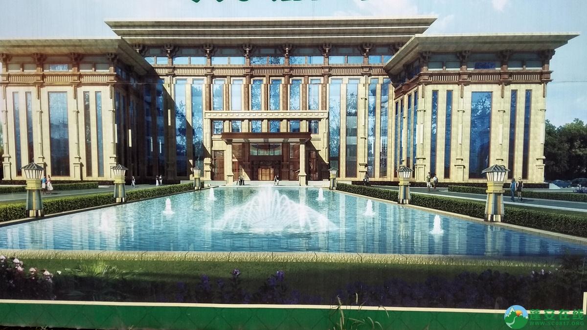蓬安锦屏相如五星级大酒店建设进展(2018.6.3) - 第1张  | 蓬安在线