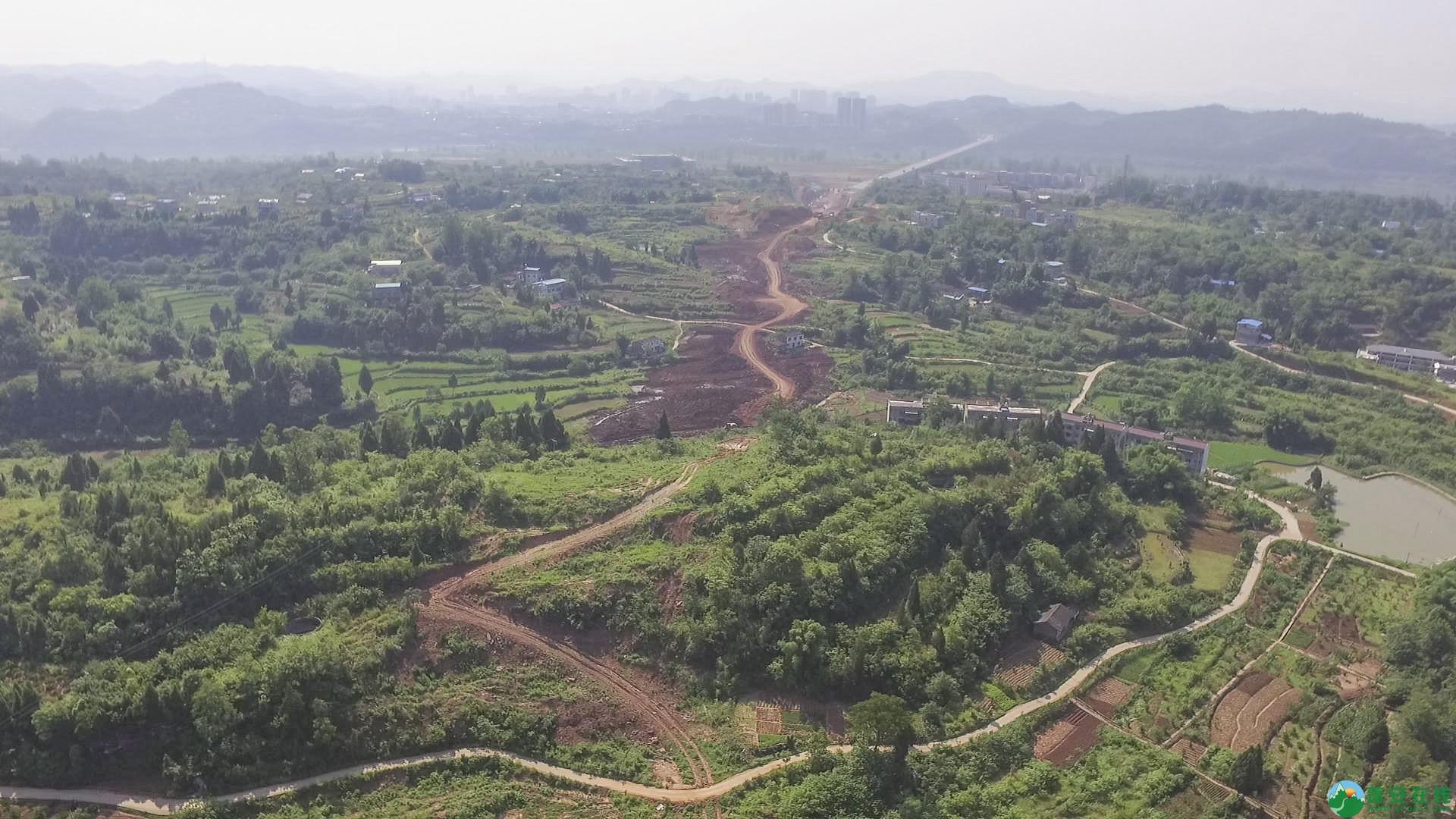 蓬安锦屏段S305省道改线工程进展 - 第13张  | 蓬安在线