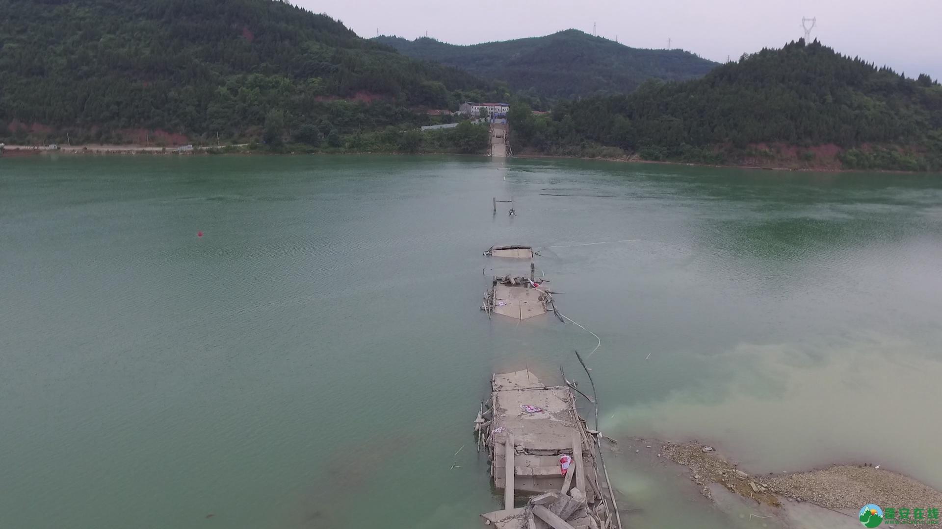 蓬安嘉陵江一桥成功爆破拆除 - 第15张  | 蓬安在线
