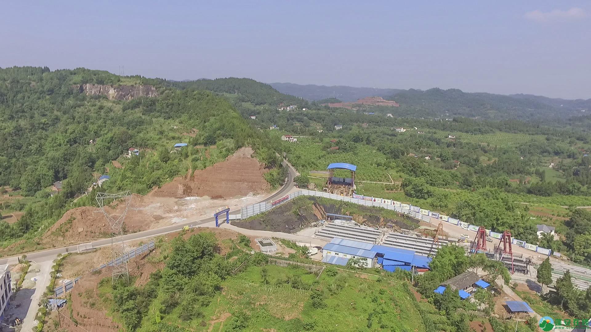蓬安锦屏段S305省道改线工程进展 - 第17张  | 蓬安在线