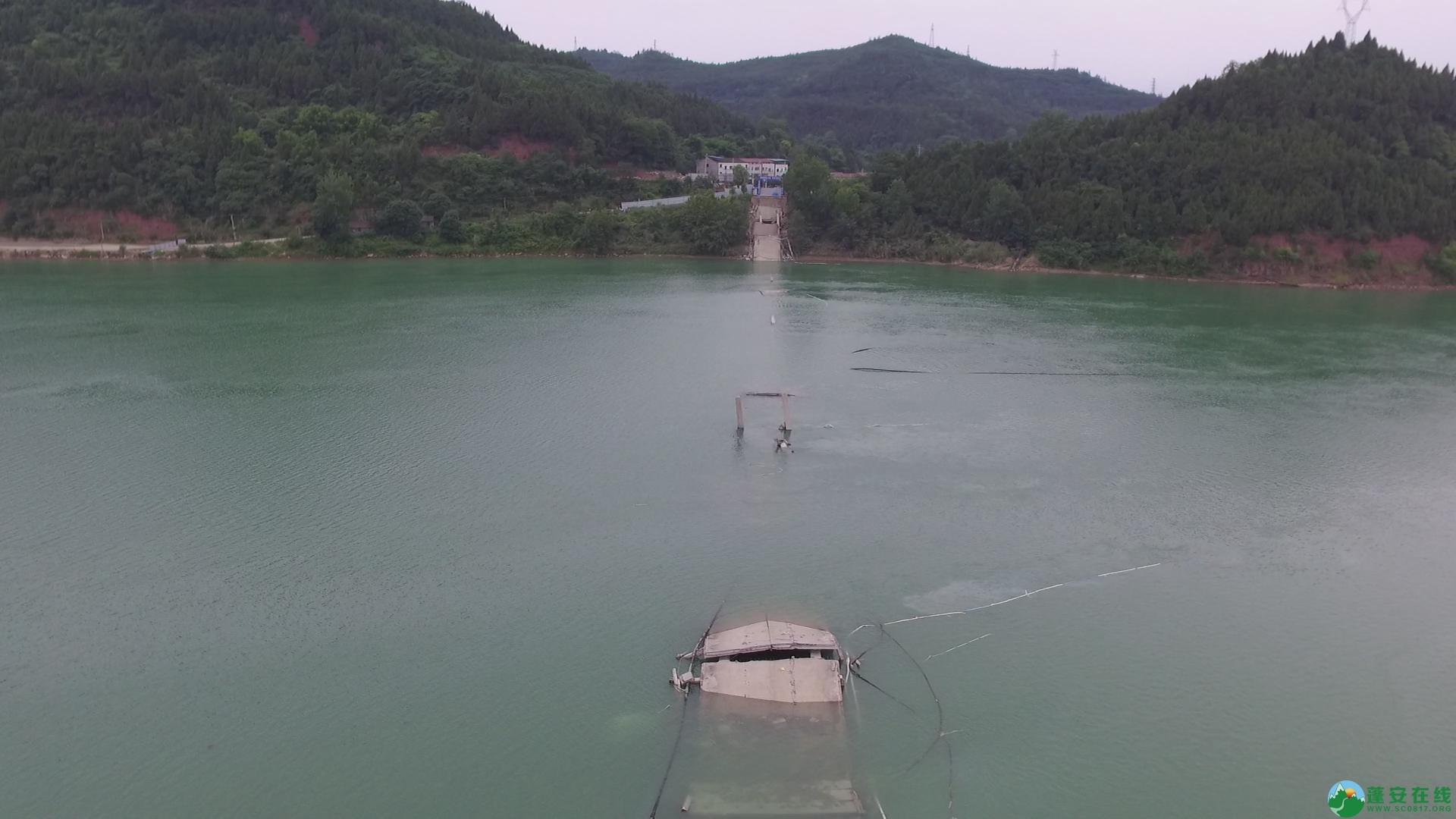 蓬安嘉陵江一桥成功爆破拆除 - 第16张  | 蓬安在线