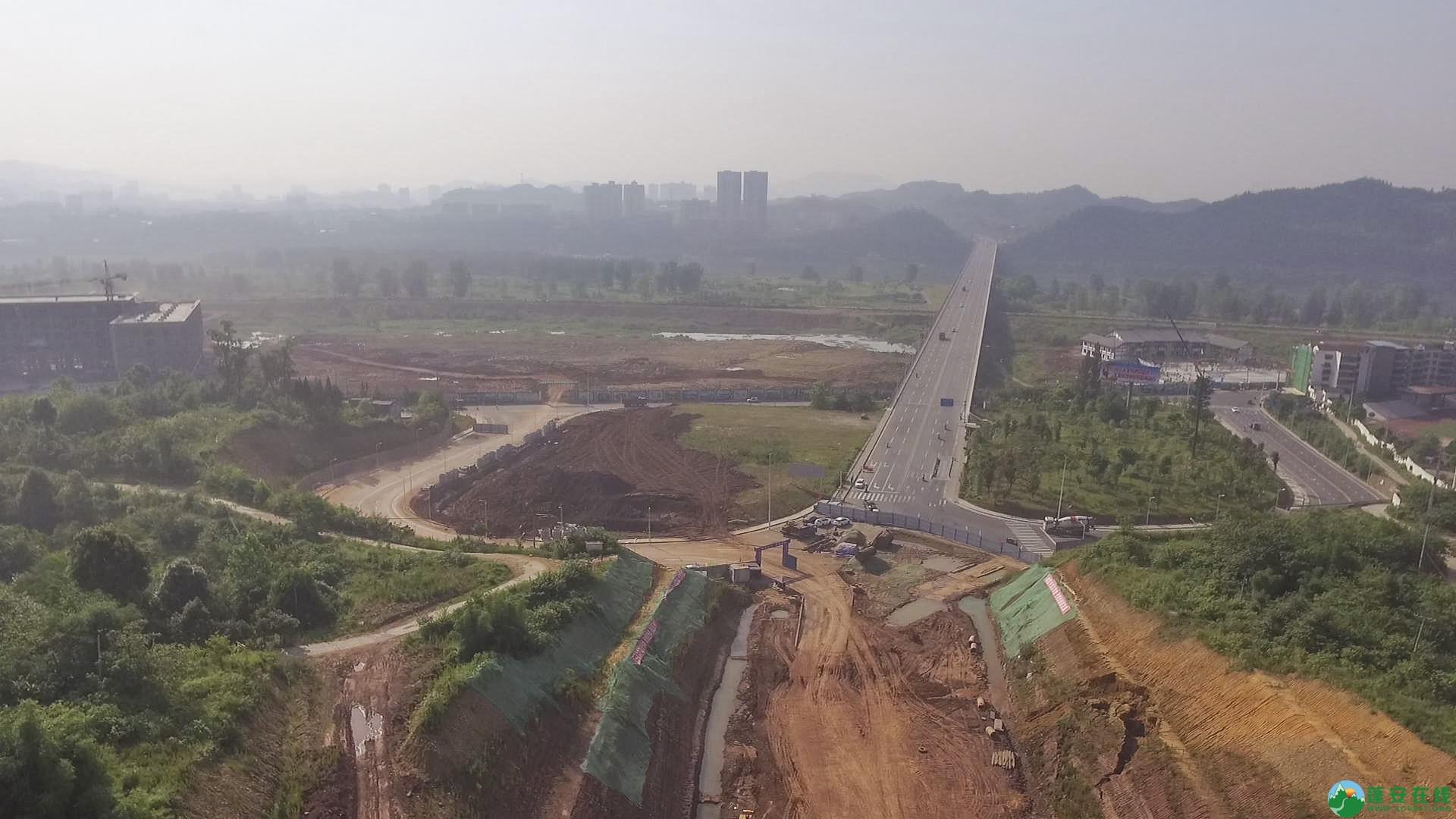 蓬安锦屏段S305省道改线工程进展 - 第2张  | 蓬安在线