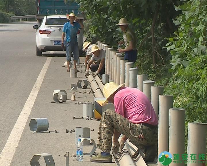 锦屏新区干一道建设工程正式开工建设 - 第2张  | 蓬安在线