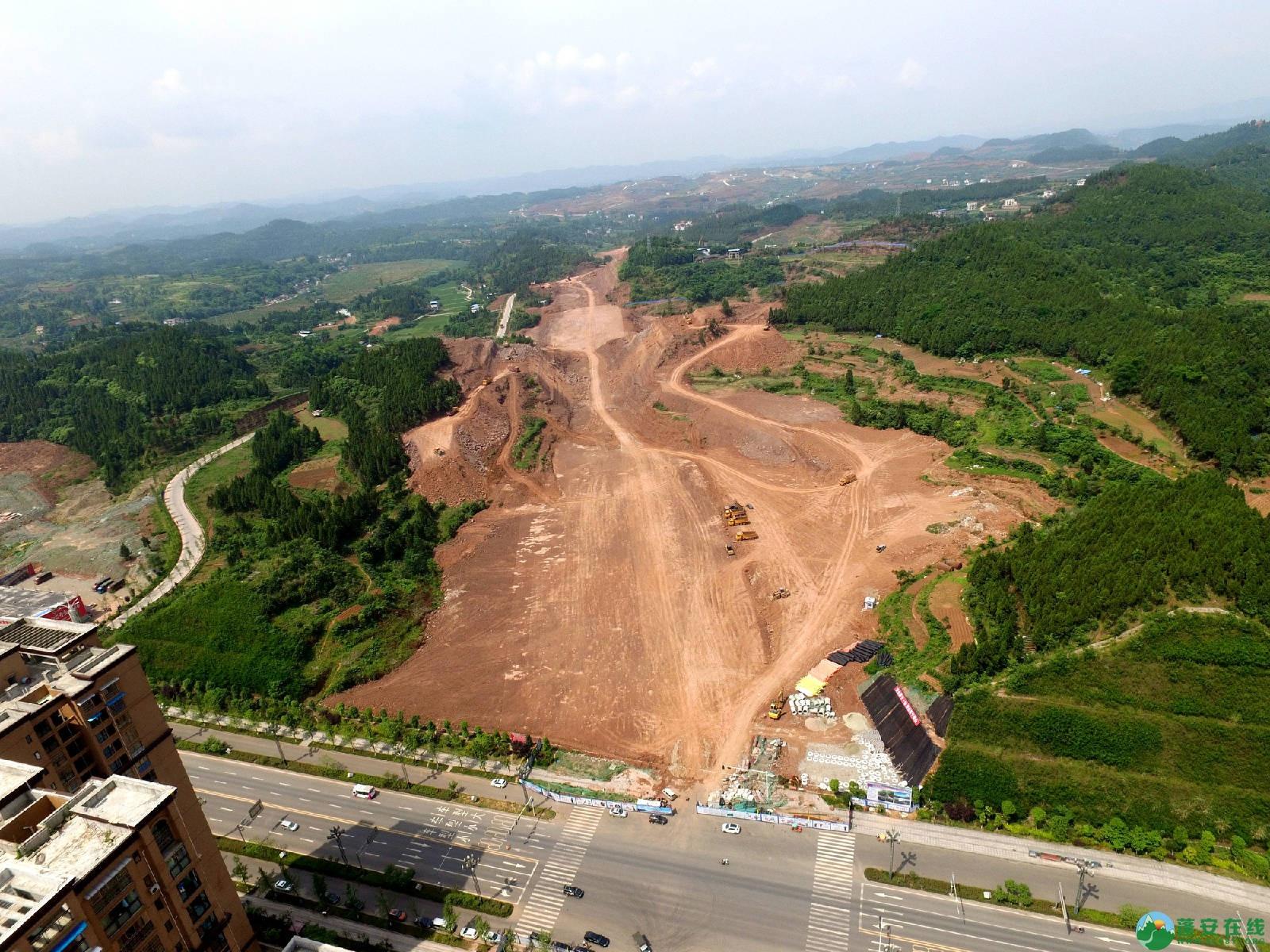 蓬安县旅游环线凤凰大道入口道路最新进展(2018年6月2日) - 第2张    蓬安在线