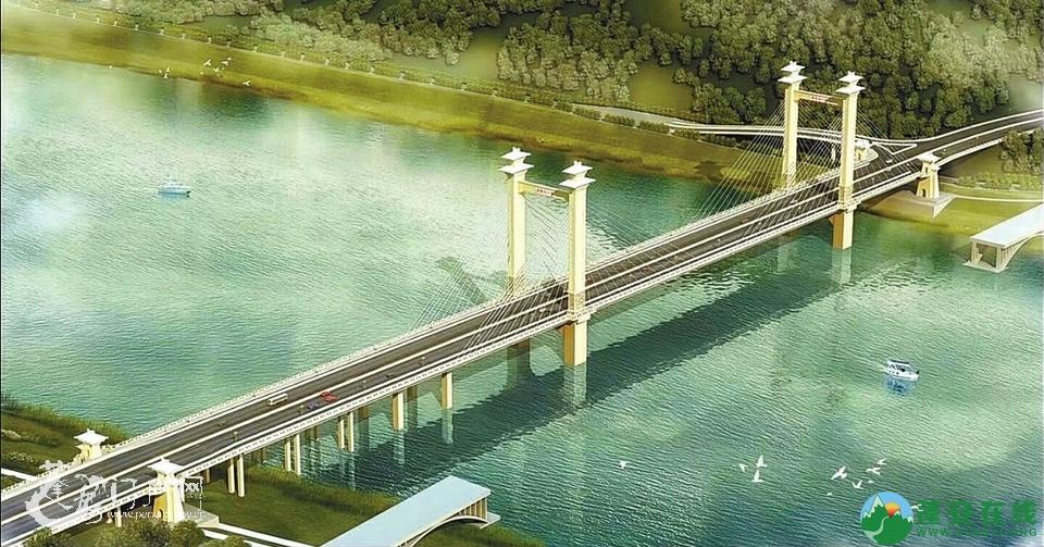 蓬安县绕城北路嘉陵江大桥 预计2020年竣工通车 - 第1张  | 蓬安在线