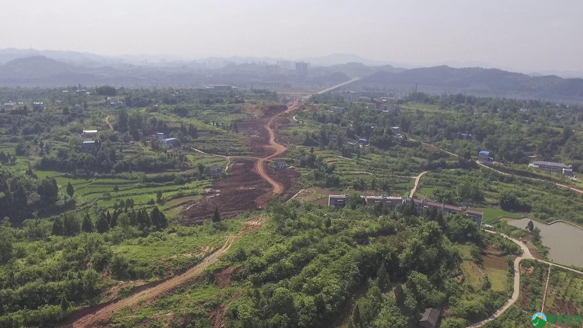 蓬安锦屏段S305省道改线工程进展 - 第21张  | 蓬安在线
