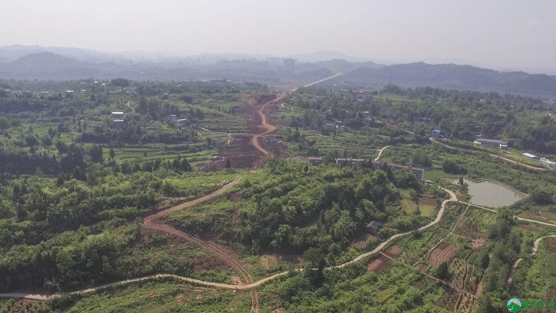 蓬安锦屏段S305省道改线工程进展 - 第22张  | 蓬安在线