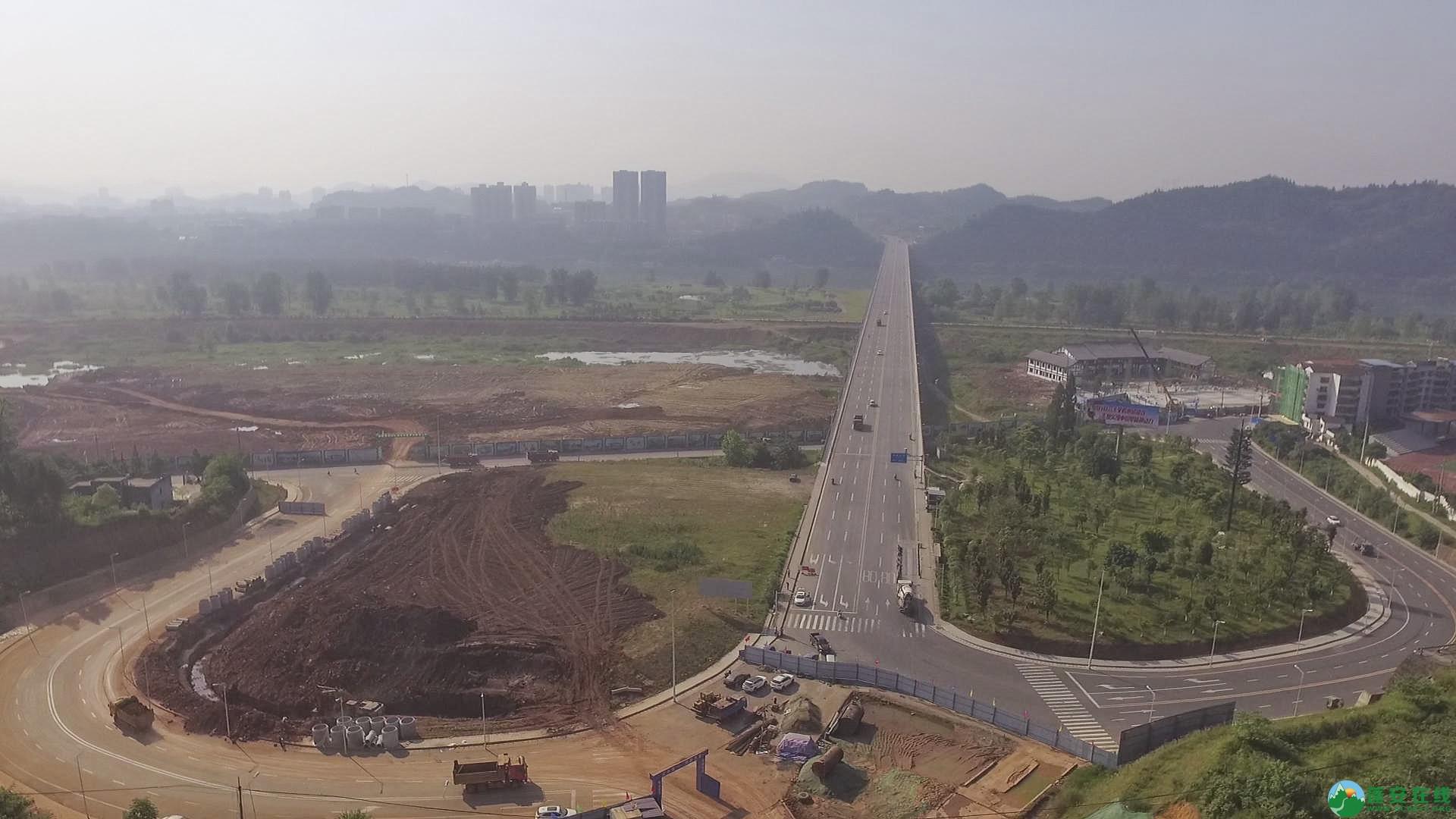 蓬安锦屏段S305省道改线工程进展 - 第3张  | 蓬安在线