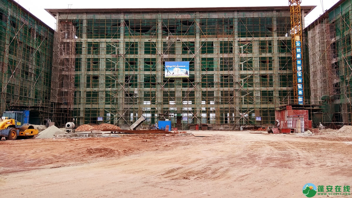 蓬安锦屏相如五星级大酒店建设进展(2018.6.3) - 第4张  | 蓬安在线