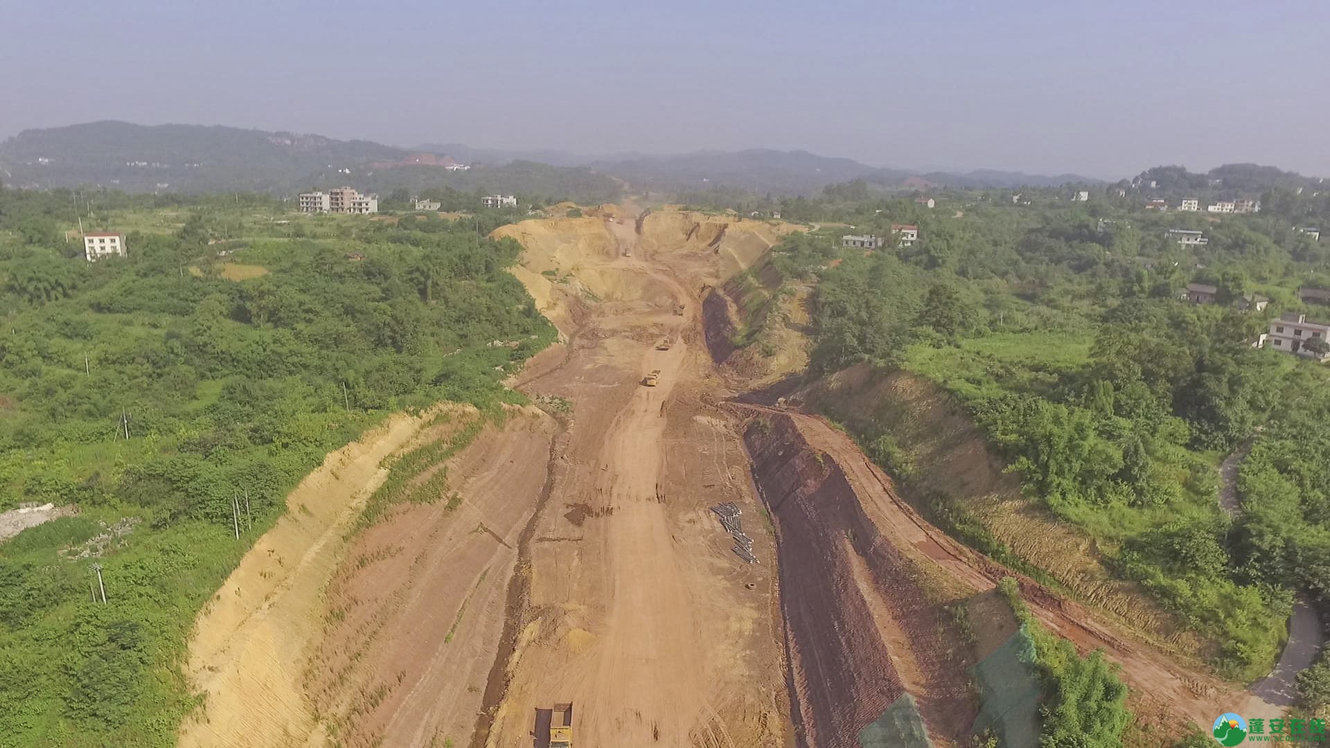 蓬安锦屏段S305省道改线工程进展 - 第4张  | 蓬安在线