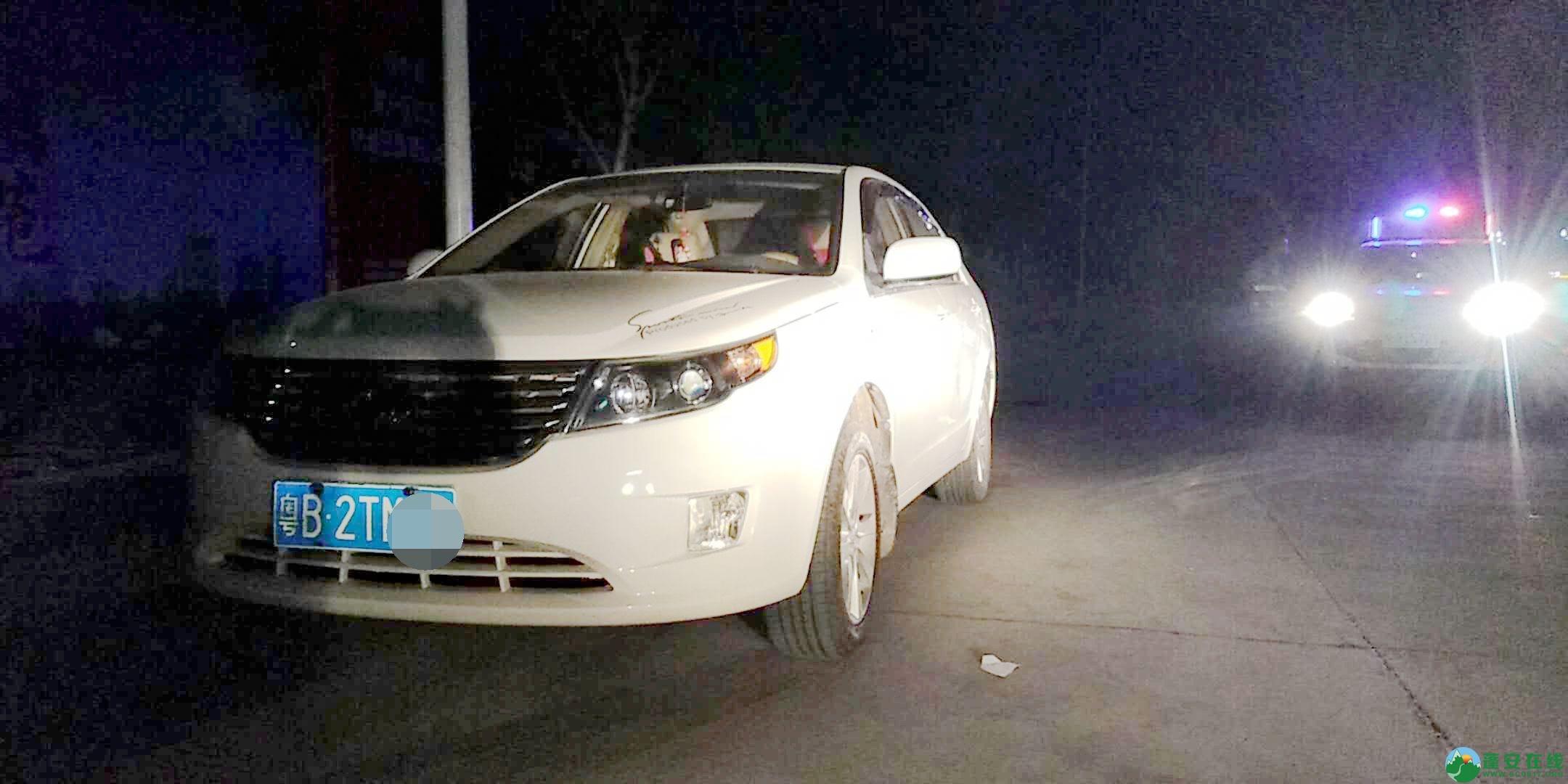 蓬安凤凰大道一交通事故,一女士不幸当场死亡,交警深夜加班加点搜寻逃逸车主 - 第4张  | 蓬安在线