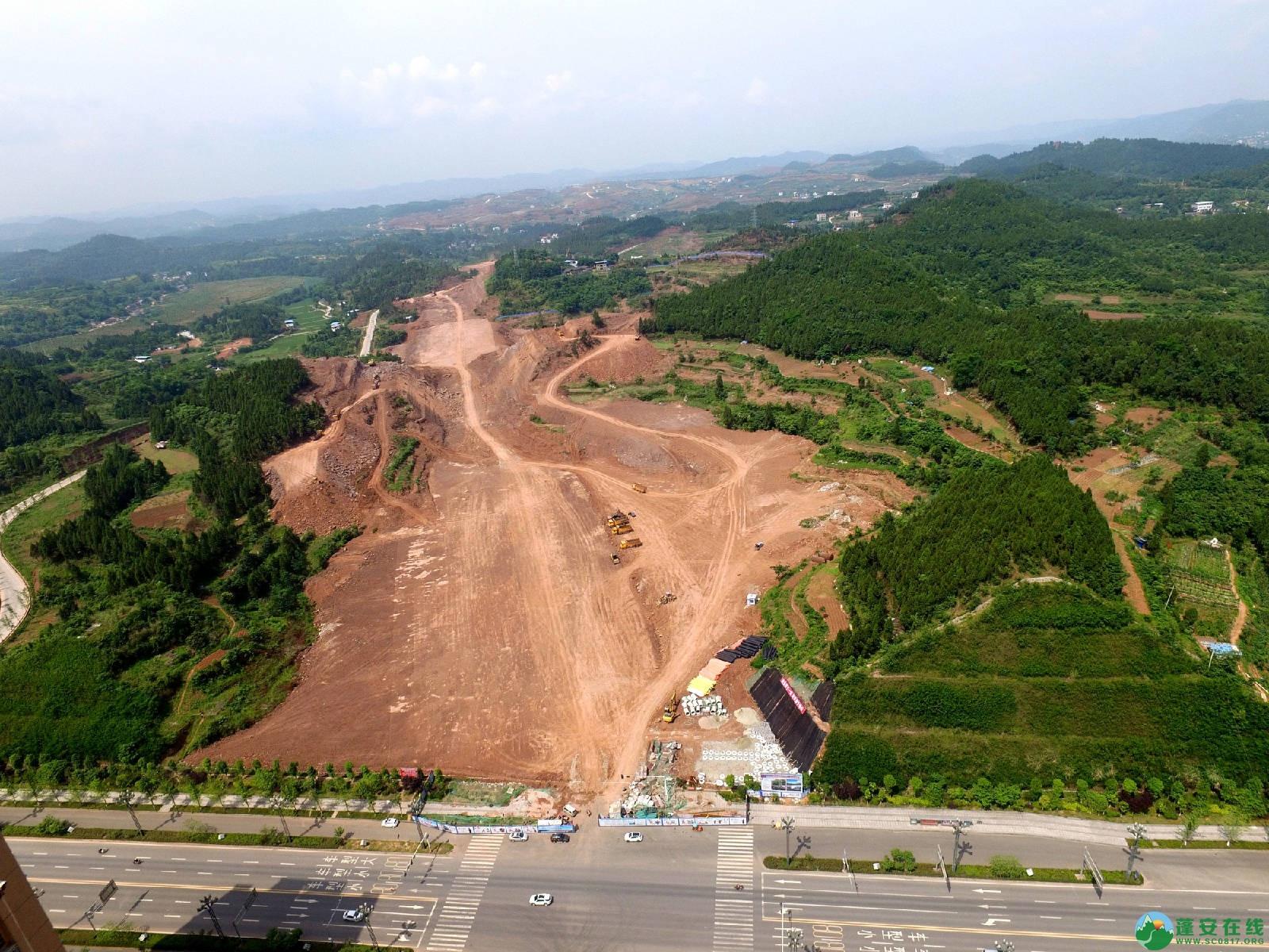 蓬安县旅游环线凤凰大道入口道路最新进展(2018年6月2日) - 第4张    蓬安在线
