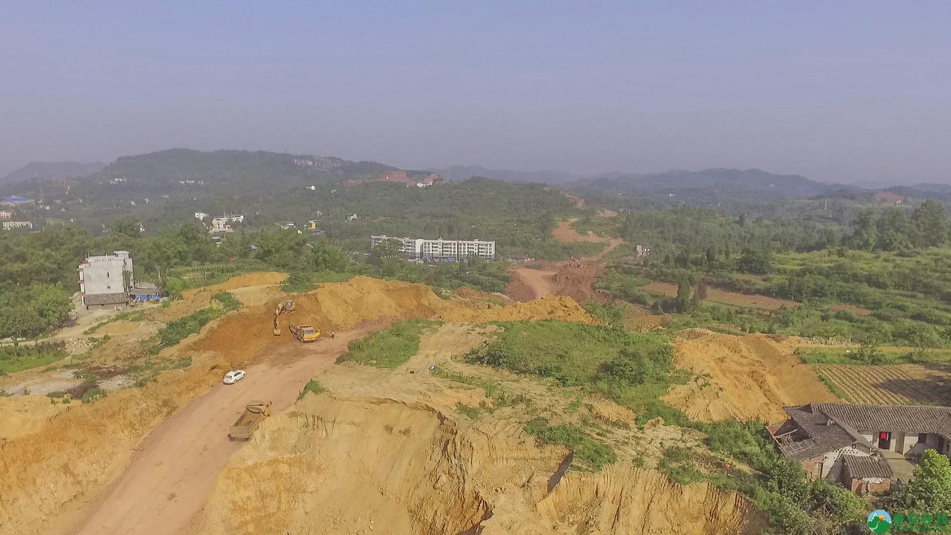 蓬安锦屏段S305省道改线工程进展 - 第5张  | 蓬安在线
