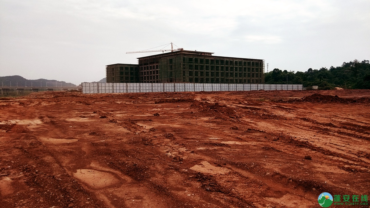 蓬安锦屏相如五星级大酒店建设进展(2018.6.3) - 第6张  | 蓬安在线