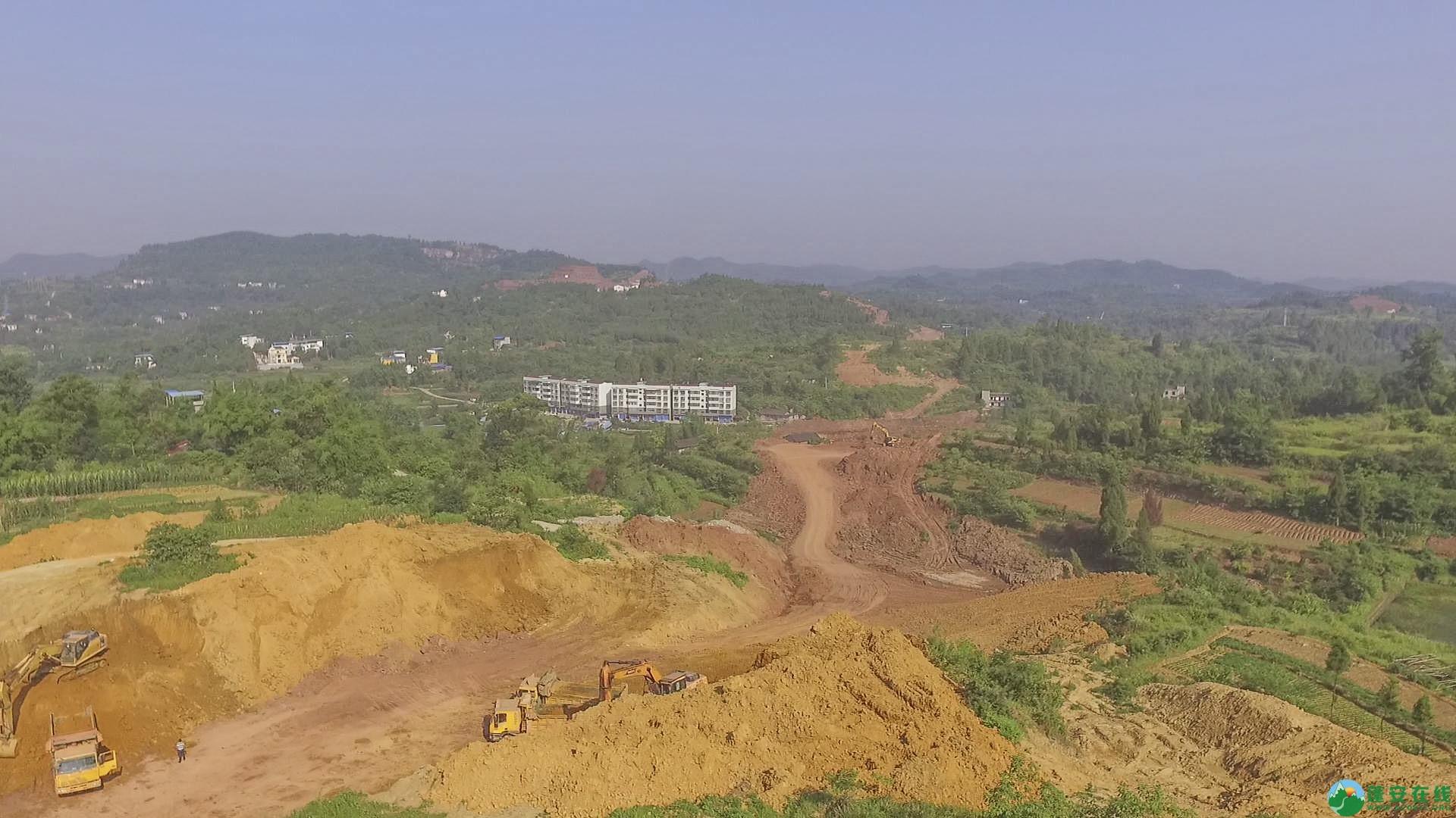 蓬安锦屏段S305省道改线工程进展 - 第6张  | 蓬安在线