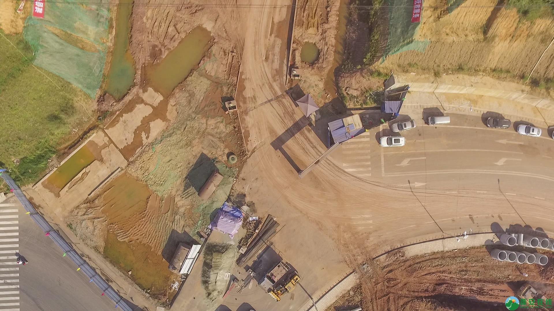 蓬安锦屏段S305省道改线工程进展 - 第7张  | 蓬安在线
