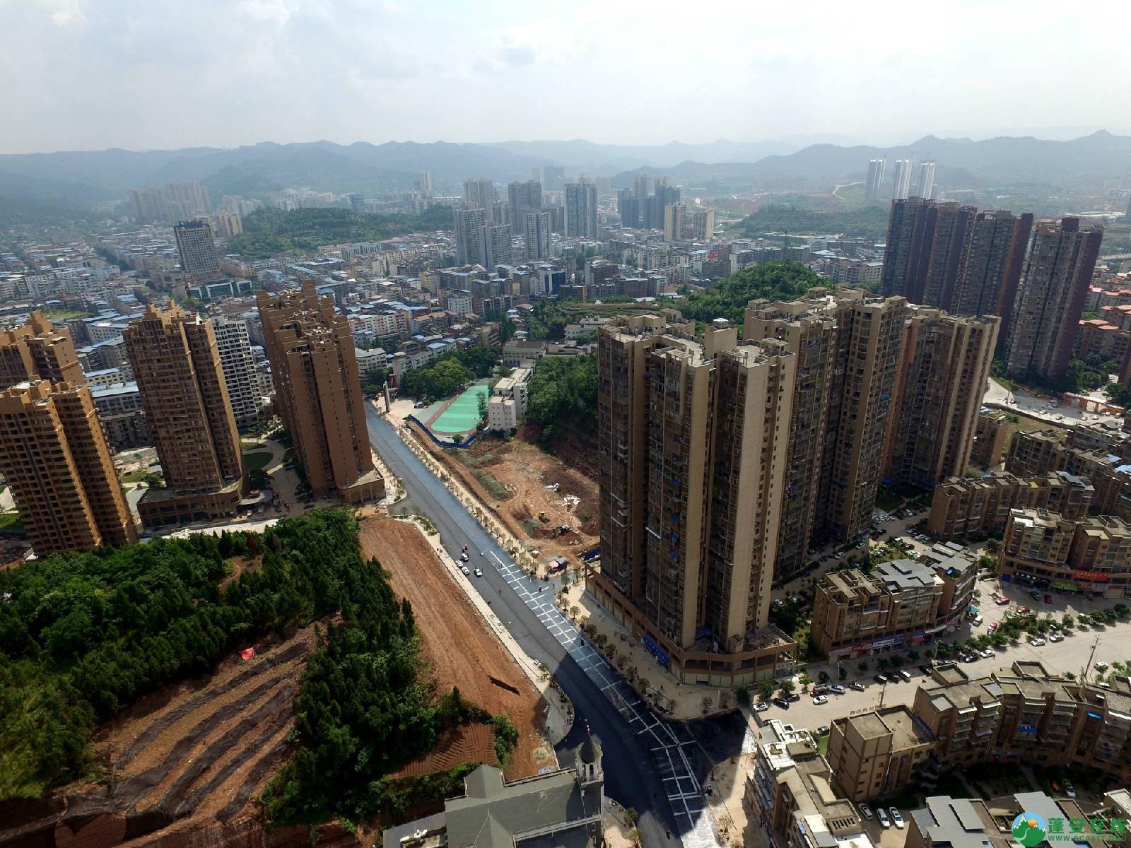 蓬安县旅游环线凤凰大道入口道路最新进展(2018年6月2日) - 第7张    蓬安在线
