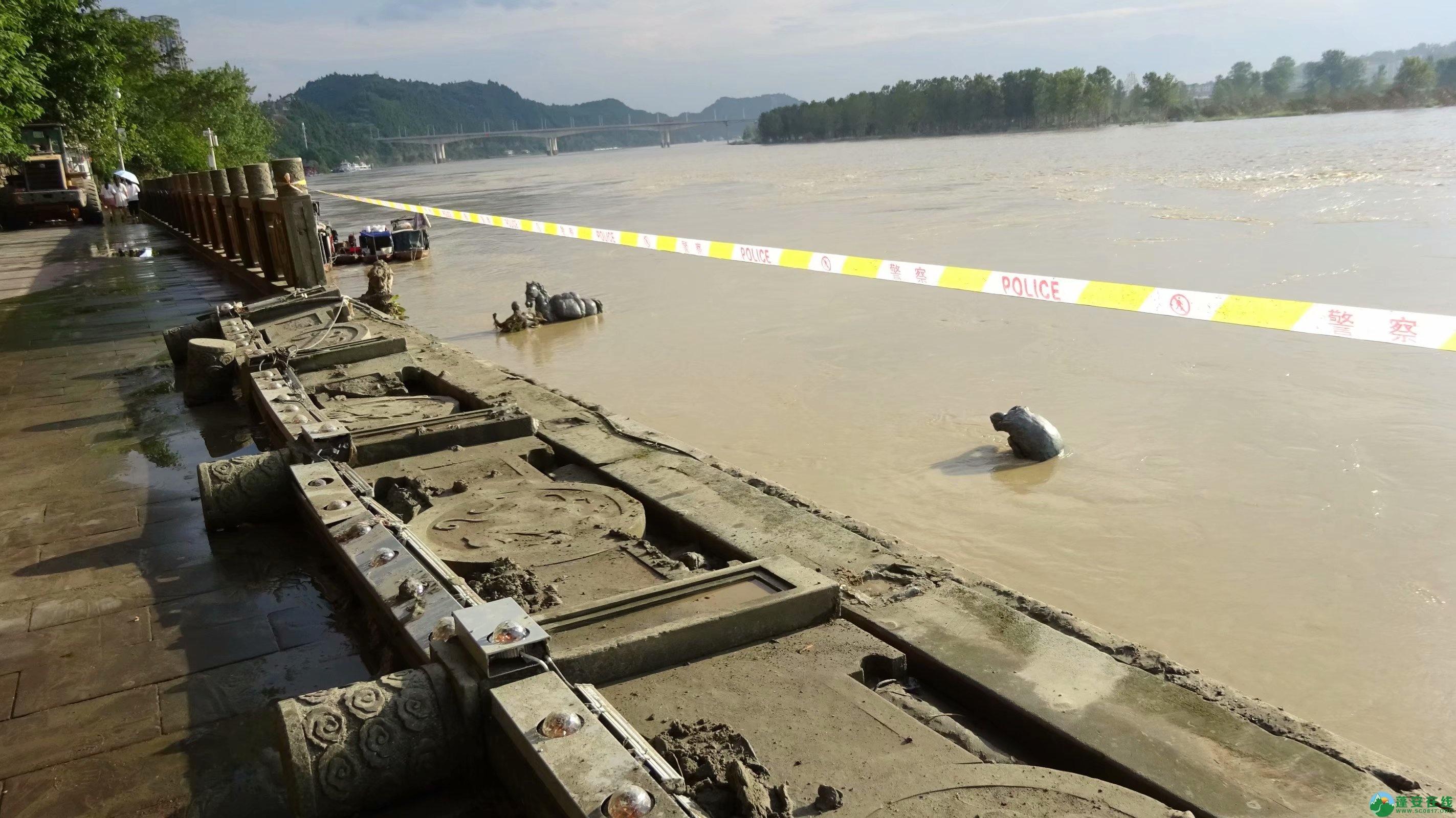 洪水退去后的蓬安县嘉陵江 - 第11张  | 蓬安在线