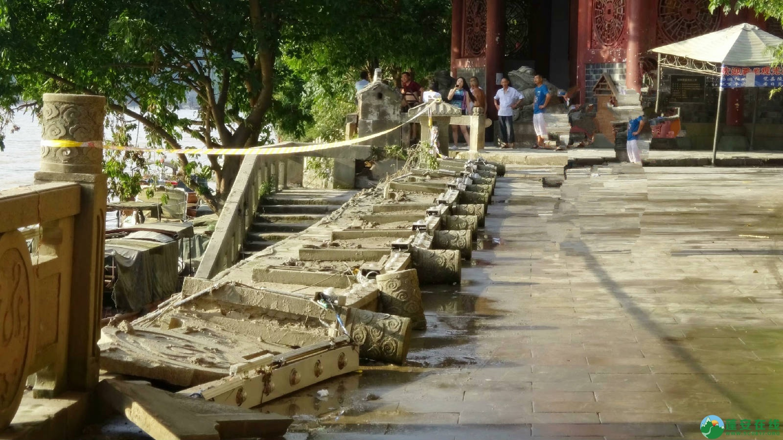 洪水退去后的蓬安县嘉陵江 - 第12张  | 蓬安在线