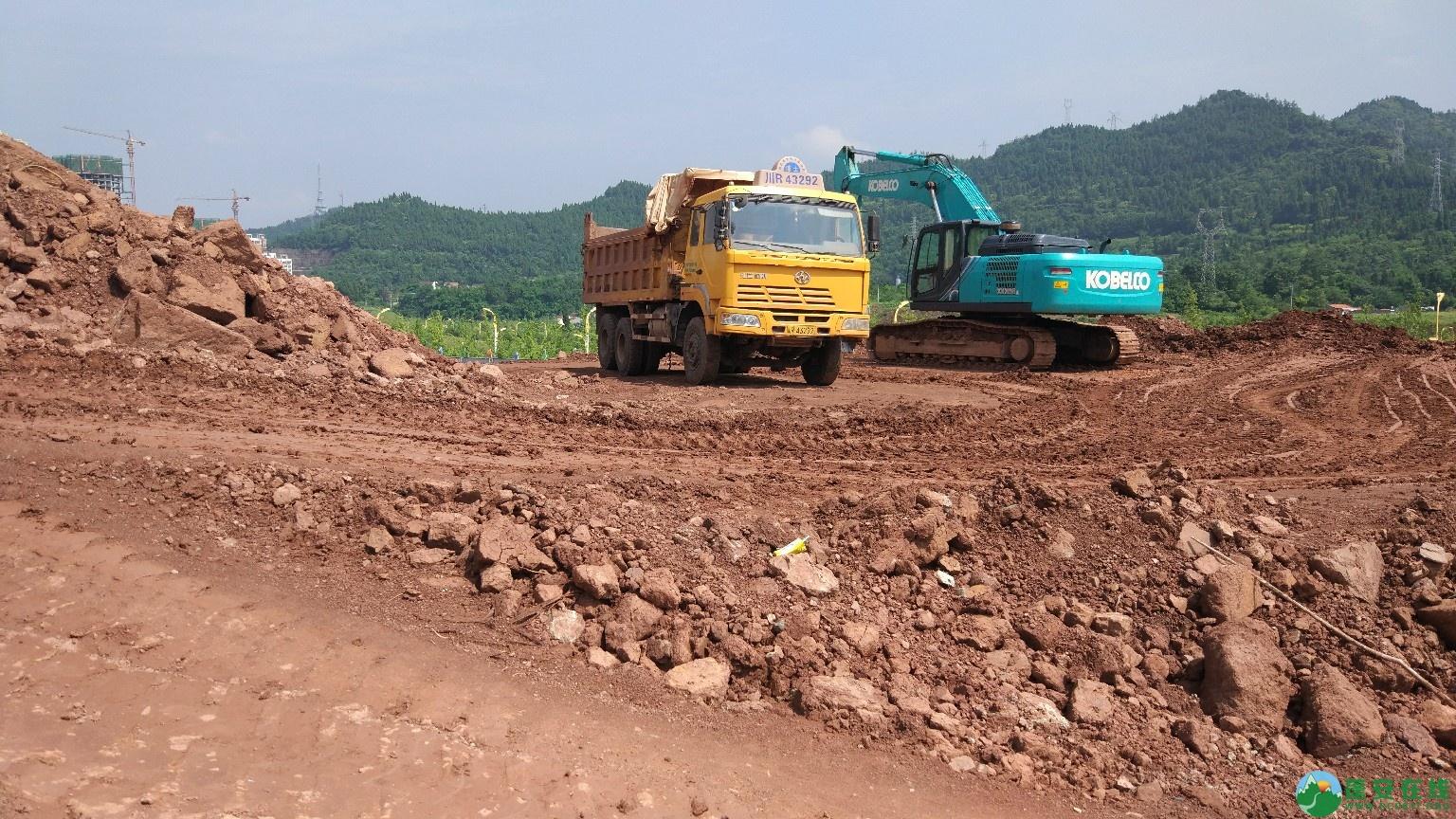 蓬安县轿顶山公园建设工程正式开工 - 第2张  | 蓬安在线