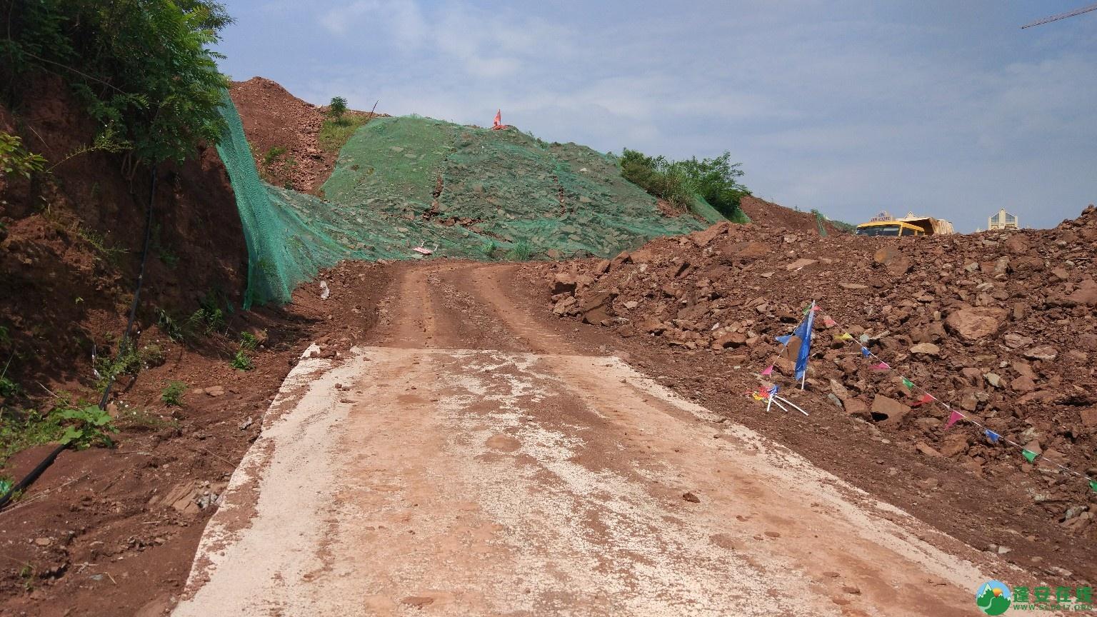 蓬安县轿顶山公园建设工程正式开工 - 第3张  | 蓬安在线