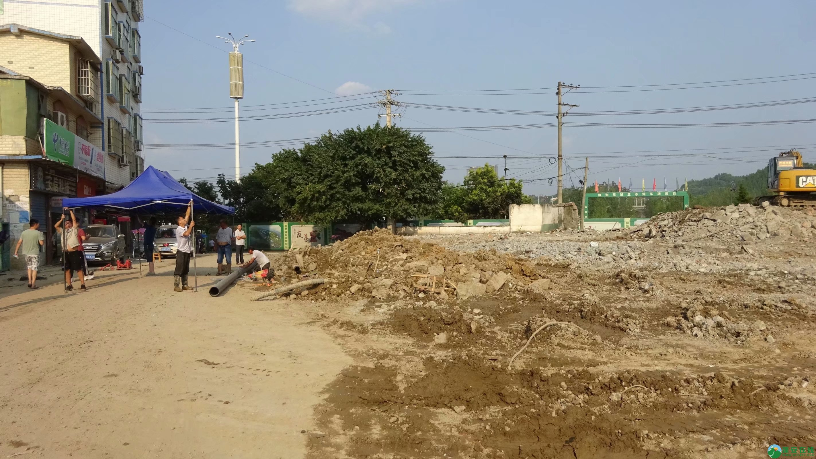 蓬安锦屏相如故城建设迅猛 - 第2张  | 蓬安在线