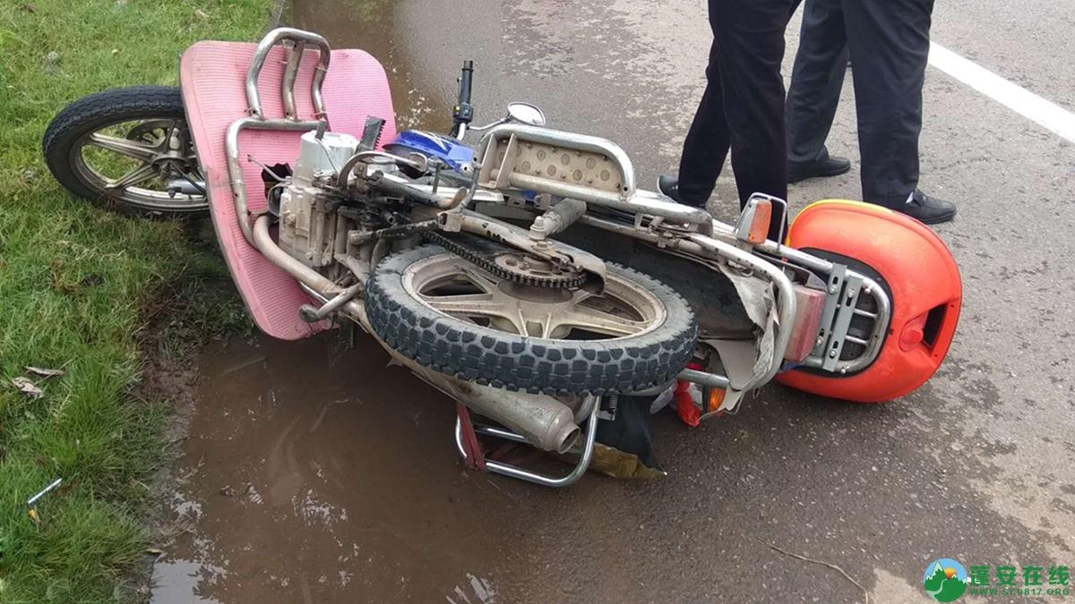 蓬安县河舒工业园区桂花路发生两摩托车相撞 - 第10张  | 蓬安在线