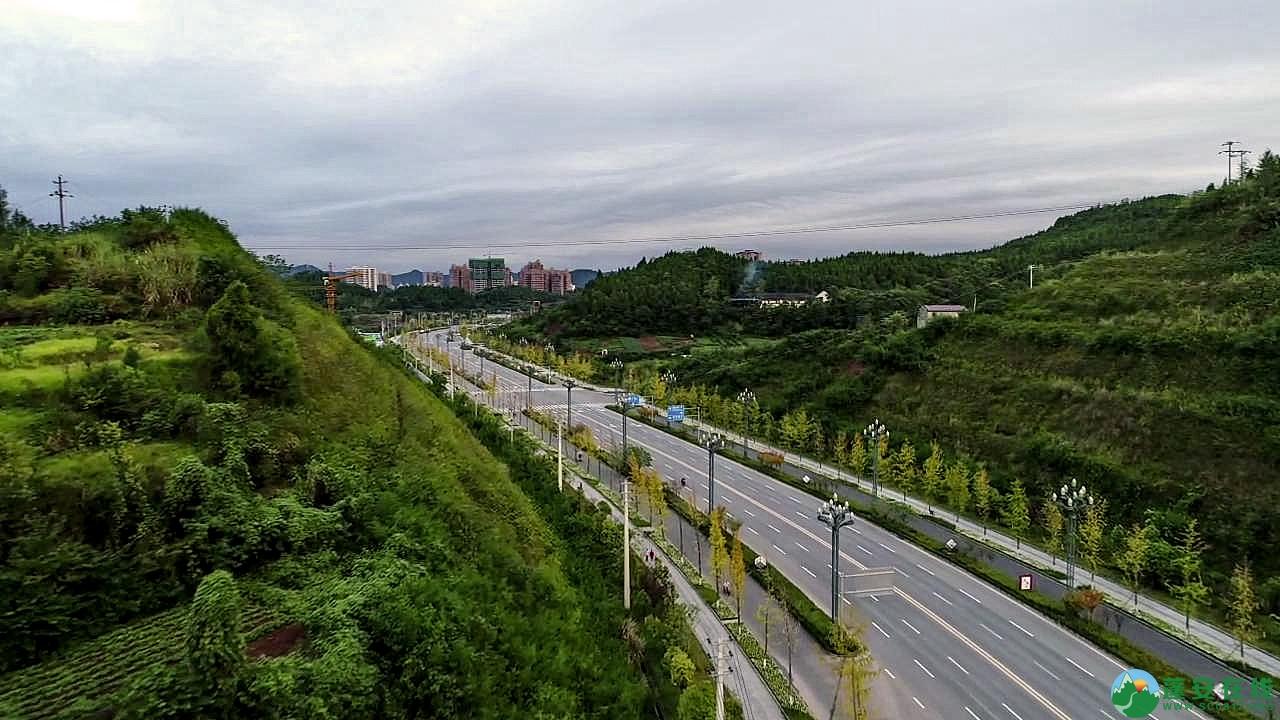 蓬安县凤凰大道江边新貌 - 第3张  | 蓬安在线