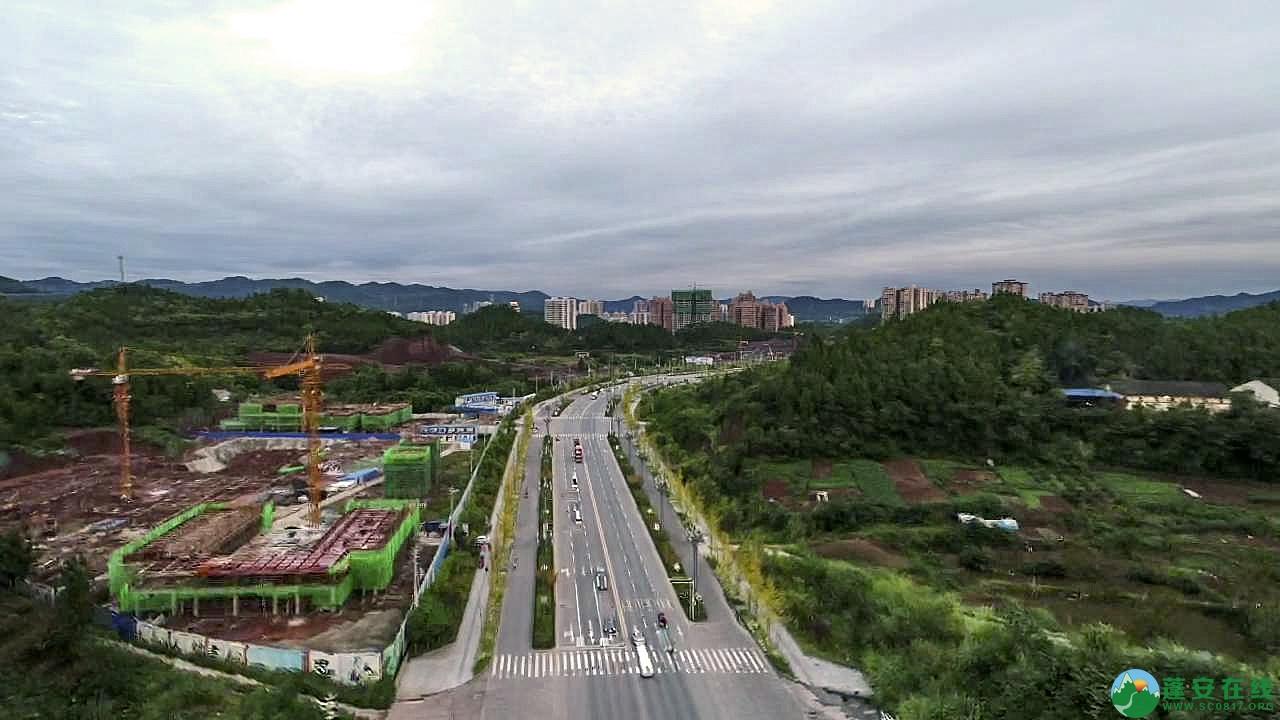 蓬安县凤凰大道江边新貌 - 第4张  | 蓬安在线