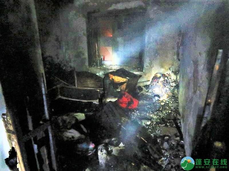 蓬安都市水乡凌晨突发火灾 - 第6张  | 蓬安在线