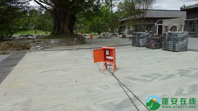 蓬安锦屏相如故城工地进展 - 第1张  | 蓬安在线