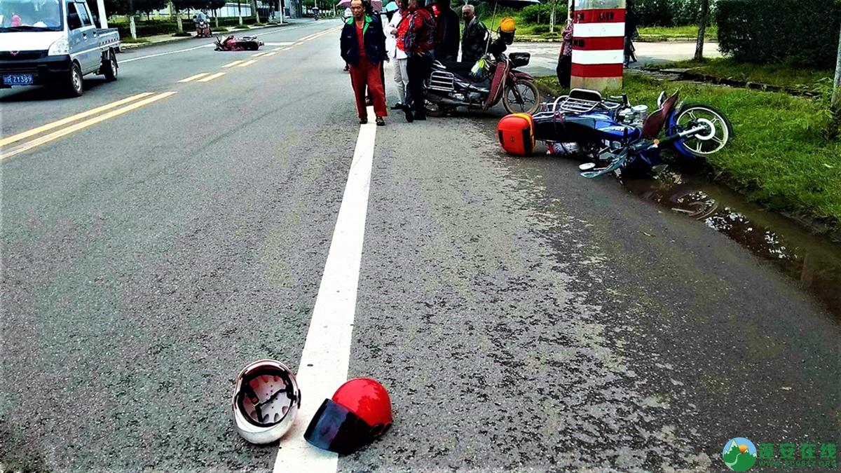 蓬安县河舒工业园区桂花路发生两摩托车相撞 - 第7张  | 蓬安在线